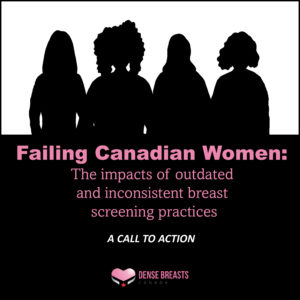 MEDIA RELEASE - FAILING CANADIAN WOMEN, A REPORT